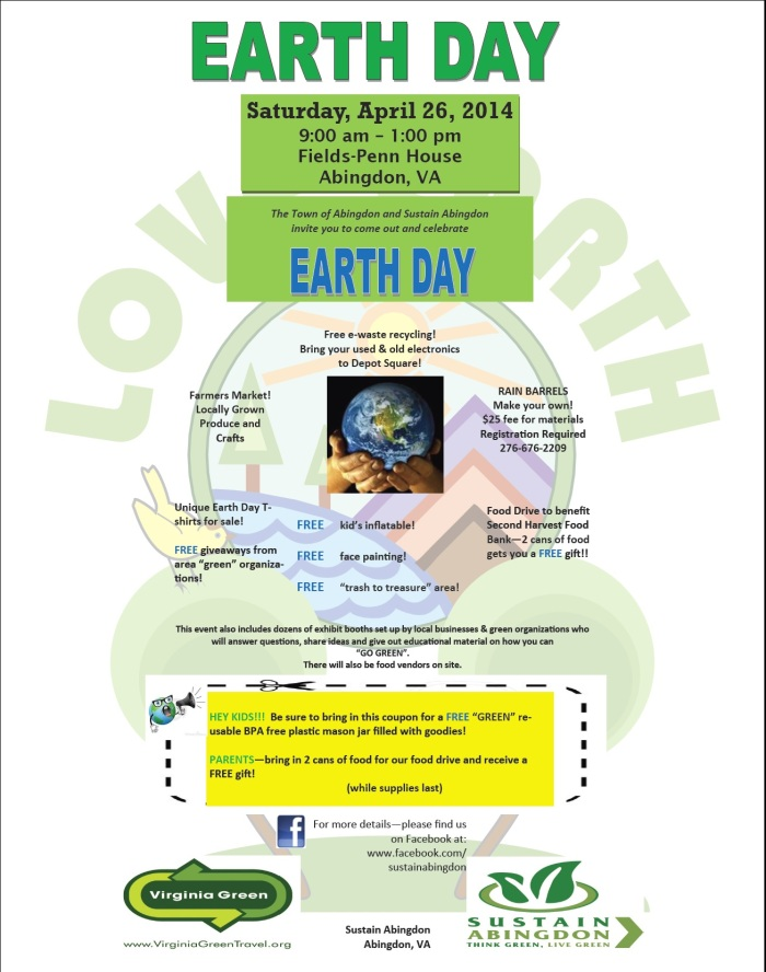 Earth Day 2014 Flyer
