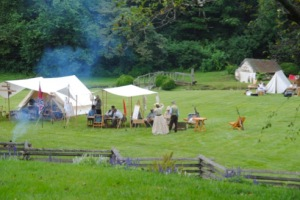 Encampment, Abingdon Muster Grounds