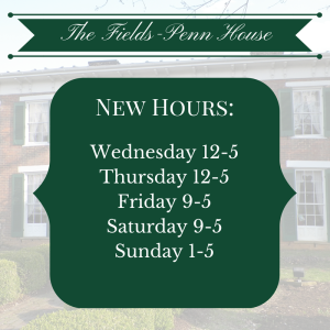 New Hours Fall 14