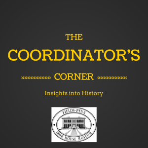 Coordinators Corner