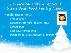 Ecumencial Needs